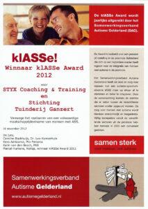 SAG-klASSe-Award-2012